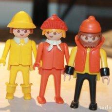 Playmobil: FAMOBIL 3 MUÑECOS. 1974 GEOBRA. INFORMACIÓN Y FOTOS.. Lote 113018071