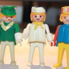 Playmobil: FAMOBIL 3 MUÑECOS. 1974 GEOBRA. INFORMACIÓN Y FOTOS.. Lote 113018163