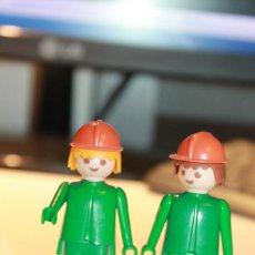Playmobil: FAMOBIL 2 MUÑECOS. 1974 GEOBRA. INFORMACIÓN Y FOTOS.. Lote 113018235