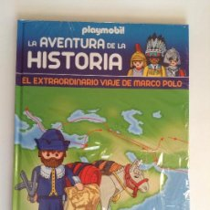 Playmobil: PLAYMOBIL LIBRO HISTORIA MARCO POLO BARCO PIRATAS RAREZA PIEZAS. Lote 113211543