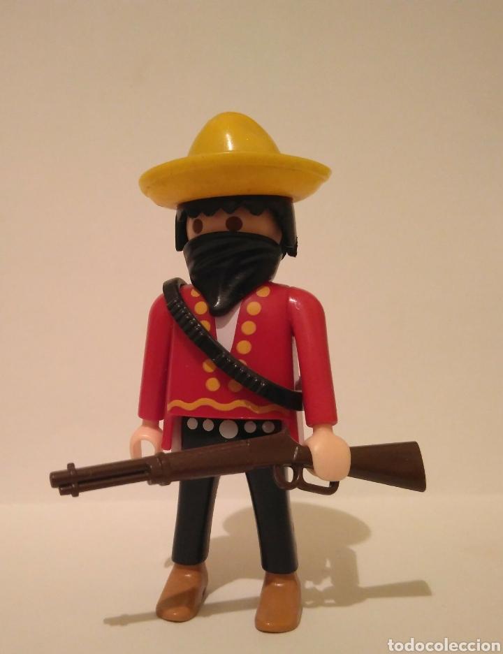 PLAYMOBIL SPECIAL ESPECIAL MEXICANO BANDIDO OESTE WESTERN (Juguetes - Playmobil)