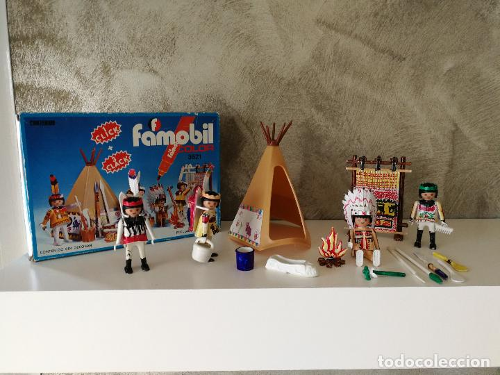 INDIOS FAMOBIL COLOR 3621 EN CAJA (Juguetes - Playmobil)