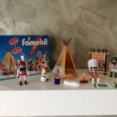 Playmobil: INDIOS FAMOBIL COLOR 3621 EN CAJA. Lote 127550867
