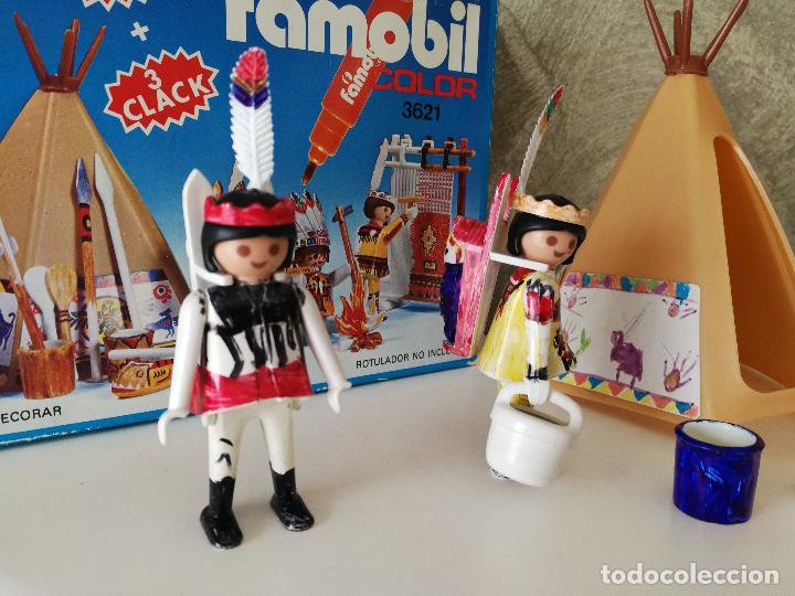 Playmobil: INDIOS FAMOBIL COLOR 3621 EN CAJA - Foto 2 - 127550867