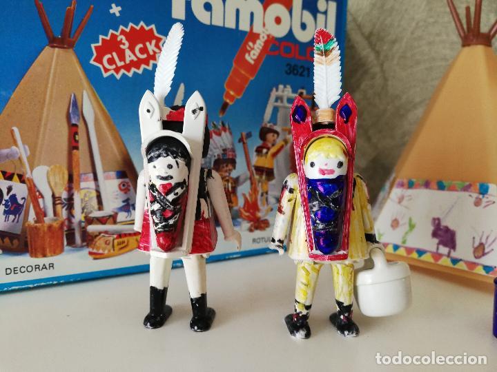 Playmobil: INDIOS FAMOBIL COLOR 3621 EN CAJA - Foto 3 - 127550867
