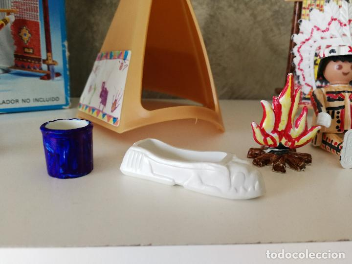 Playmobil: INDIOS FAMOBIL COLOR 3621 EN CAJA - Foto 4 - 127550867