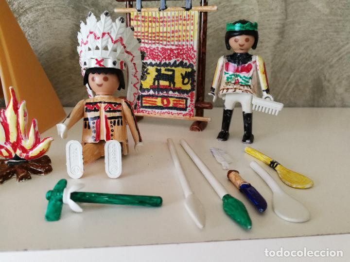 Playmobil: INDIOS FAMOBIL COLOR 3621 EN CAJA - Foto 5 - 127550867