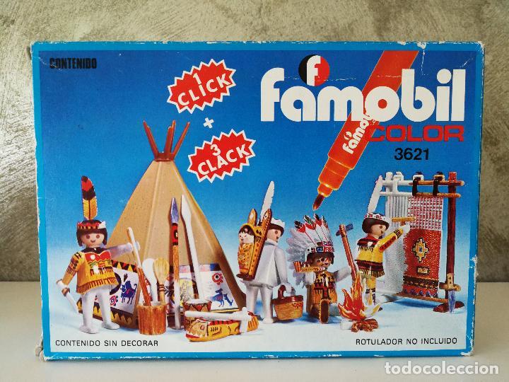 Playmobil: INDIOS FAMOBIL COLOR 3621 EN CAJA - Foto 8 - 127550867