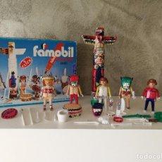 Playmobil: INDIOS FAMOBIL COLOR 3620 EN CAJA. Lote 127551415