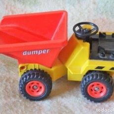 Playmobil: PLAYMOBIL GEOBRA DUMPER DEL AÑO 1988. Lote 114265519