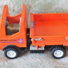 Playmobil: PLAYMOBIL CAMION VOLQUETE PM 89 3755 GEOBRA DE 1986. Lote 114267503