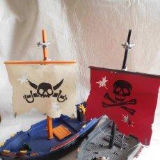 Playmobil: M69 DOS BARCOS PIRATAS Y CORSARIOS DE PLAYMOBIL. Lote 114656123