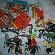 Playmobil: CIRCO DE FAMOBIL SIN CAJA. CREO QUE LLEVA TODAS LAS PIEZAS. INCLUYE ALGÚN MUÑECO DE OTROS MODELOS. Lote 114748151