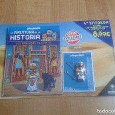 Playmobil: PLAYMOBIL - FIGURAS EXCLUSIVAS - LA AVENTURA DE LA HISTORIA Nº 4 - FARAÓN EGIPCIO - LIBRO + CLICK. Lote 115079543