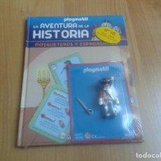 Playmobil: PLAYMOBIL - FIGURAS EXCLUSIVAS - LA AVENTURA DE LA HISTORIA Nº 10 - MOSQUETERO - LIBRO + CLICK. Lote 115079935