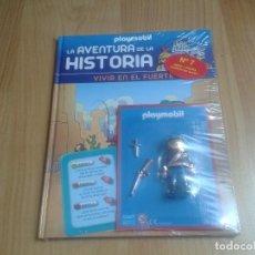 Playmobil: PLAYMOBIL FIGURAS EXCLUSIVAS - LA AVENTURA DE LA HISTORIA Nº 7 - SOLDADO DEL FUERTE - LIBRO + CLICK. Lote 115093183