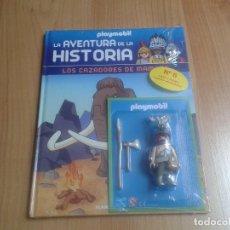 Playmobil: PLAYMOBIL FIGURAS EXCLUSIVAS - AVENTURA DE LA HISTORIA Nº 6 - CAZADOR PREHISTÓRICO - LIBRO + CLICK. Lote 115093331