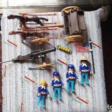 Playmobil: PLAYMOBIL NORDISTAS CON CAÑON. Lote 115776843
