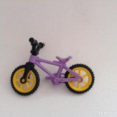 Playmobil: PLAYMOBIL BICI CICLISTA BICICLETA CARRERA NIÑOS VARIOS PIEZAS. Lote 194227055