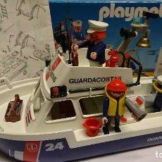 Playmobil: PLAYMOBIL 3599,BARCO GUARDACOSTAS. Lote 116133231
