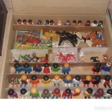 Playmobil: 07-00030 - PACK CAJA 28 GRANDES + 13 NIÑOS + 11 ANIMALES +BICI + COMPLEMENTOS - LEER. Lote 116977511