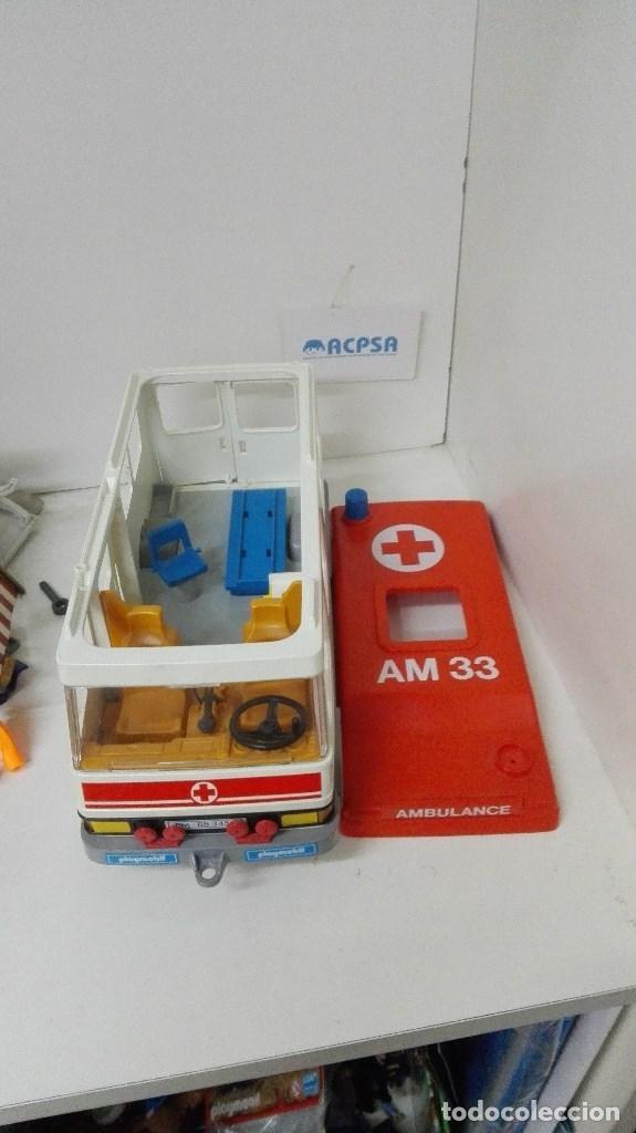 PLAYMOBIL AMBULANCIA (Juguetes - Playmobil)
