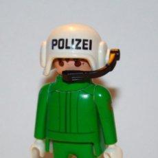 Playmobil: PLAYMOBIL MEDIEVAL FIGURA CITY POLICIA PILOTO. Lote 117394487