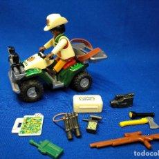 Playmobil: PLAYMOBIL EXPLORADOR CON QUAD Y ACCESORIOS. Lote 117398811
