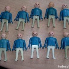 Playmobil: GEOBRA 1974, PETO Y BRAZOS AZUL ,PANTALONES BLANCOS, SIN PELO. Lote 117404199