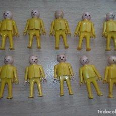 Playmobil: GEOBRA 1974, TODO AMARILLO, SIN PELO. Lote 117404255