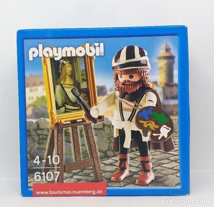PLAYMOBIL DURERO REFERENCIA 6107 PINTOR CAJA NUEVA SIN ABRIR (Juguetes - Playmobil)