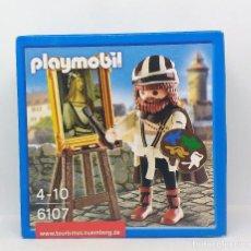 Playmobil: PLAYMOBIL DURERO REFERENCIA 6107 PINTOR CAJA NUEVA SIN ABRIR . Lote 117754463