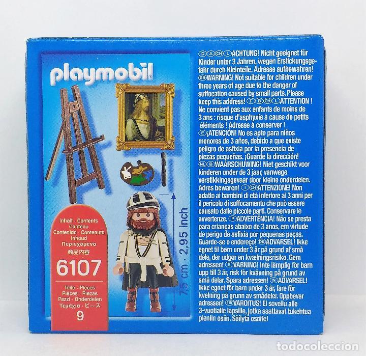 Playmobil: PLAYMOBIL DURERO REFERENCIA 6107 PINTOR CAJA NUEVA SIN ABRIR - Foto 2 - 117754463