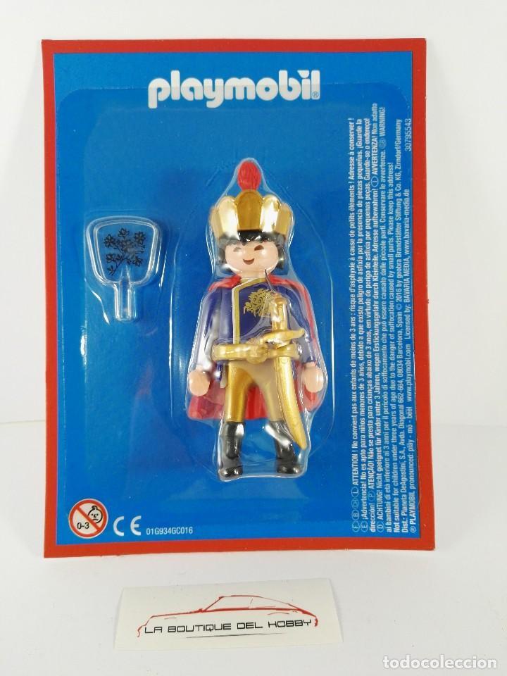 FIGURA EMPERADOR CHINO LA CHINA UN IMPERIO MILENARIO ALTAYA PLAYMOBIL (Juguetes - Playmobil)