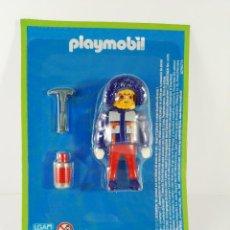 Playmobil: FIGURA EXCURSIONISTA ULTIMAS FRONTERAS DEL MUNDO ALTAYA PLAYMOBIL. Lote 147186178