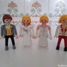 Playmobil: **VAMOS DE BODA!!LAS CHICAS DE (1987) CHICOS, UNO DE (1990) Y EL OTRO DE (1994) GEOBRA**. Lote 129278360