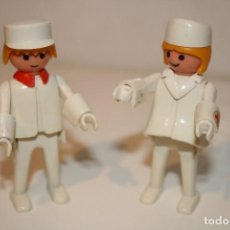 Playmobil: PAREJA DE ENFERMEROS. HOSPITAL DE FAMOBIL. GEOBRA 1974.. Lote 118203571