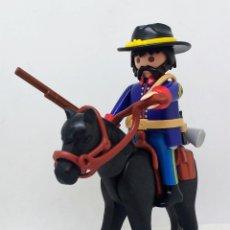 Playmobil: PLAYMOBIL SOLDADO DE LA UNIÓN A CABALLO . Lote 118466347