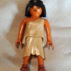 Playmobil: PLAYMOBIL FIGURA CHICA MUJER CAVERNÍCOLA PREHISTÓRICA HOMBRES PRIMITIVOS VIKINGOS BÁRBAROS ROMANOS. Lote 118671063