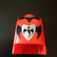 Playmobil: PLAYMOBIL CUERPO TORSO ANARANJADO DRAGÓN NEGRO REY PRÍNCIPE CABALLERO SOLDADO MEDIEVAL VIKINGOS. Lote 118671495