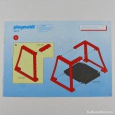 Playmobil: PLAYMOBIL MANUAL INSTRUCCIONES DE MONTAJE TIENDA DEL COMANDANTE ROMANO ORIGINAL A5 8 PAG. 4273. Lote 118869890