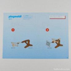 Playmobil: PLAYMOBIL MANUAL INSTRUCCIONES DE MONTAJE BALLESTA ROMANO ORIGINAL A5 4 PAG. 4271. Lote 118869978