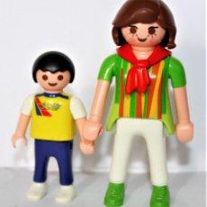 Playmobil: PLAYMOBIL MEDIEVAL FIGURA CITY MUJER CON NIÑO. Lote 119351439