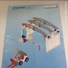 Playmobil: PLAYMOBIL INSTRUCCIONES ORIGINALES CONTENIDO Y MONTAJE CASA CIUDAD ADUANA PUESTO PUERTO 4314 PIEZAS. Lote 119419431