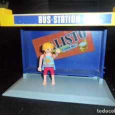 Playmobil: PARADA DE BUS STATION - PLAYMOBIL 1988 -. Lote 119964967