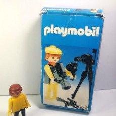 Playmobil: PLAYMOBIL FAMOBIL 3302 CAZADOR FOTÓGRAFO SAFARI CON CAJA ORIGINAL. Lote 120030871