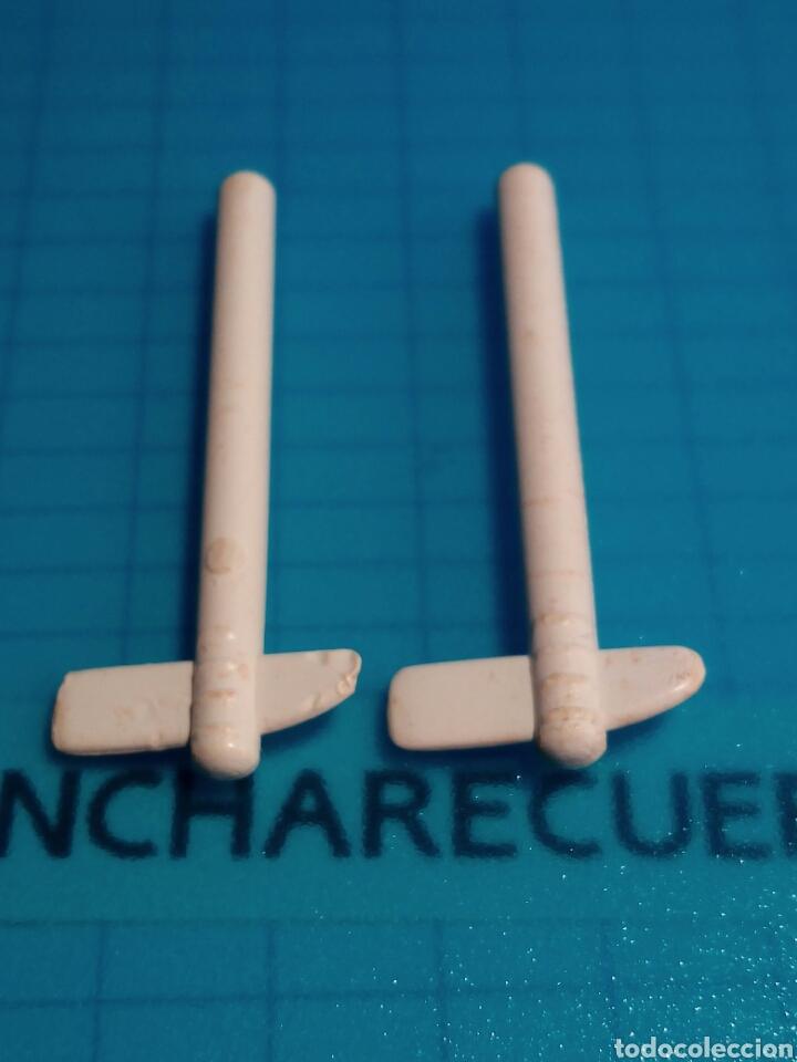 Playmobil: FAMOBIL COLOR 3620 3621 HACHA BLANCO INDIA ANTIGUA HERRAMIENTA BLANCA INDIO PLAYMOBIL PLAYMOVIL - Foto 4 - 120121179