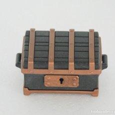 Playmobil: PLAYMOBIL COFRE DEL TESORO PIRATAS MEDIEVAL CASTILLO. Lote 120575667