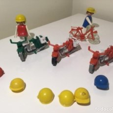 Playmobil: LOTE MOTOS, BICICLETA Y COMPLEMENTOS FAMOBIL PLAYMOBIL . Lote 120668495
