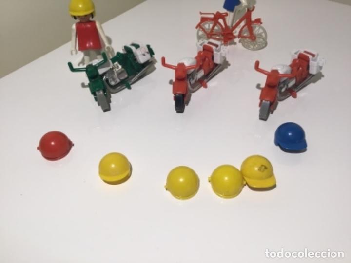 Playmobil: Lote motos, bicicleta y complementos famobil playmobil - Foto 3 - 120668495